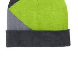 Port Authority Cuffed Colorblock Beanie