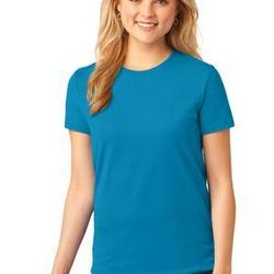 Port & Co Ladies 5.4 oz 100% Cotton T Shirt
