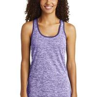 Multi-Color Sublimatable Ladies PosiCharge Electric Heather Racerback Tank