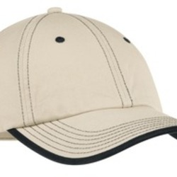 Vintage Washed Contrast Stitch Cap