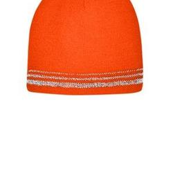 ® Lined Enhanced Visibility with Reflective Stripes Beanie