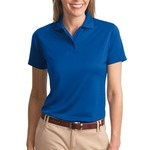 Port Authority Ladies Poly Bamboo Charcoal Blend Pique Polo