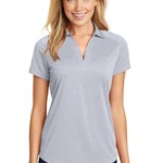Sublimated Ladies Digi Heather Performance Polo