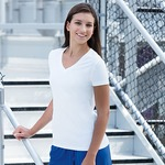 Sublimated Ladies V-Neck Performance Tee