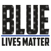 Blue Lives Matter Text