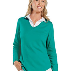 LAT Ladies' V-Neck Pullover