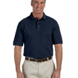 Harriton Tall 6 oz. Ringspun Cotton Piqué Short-Sleeve Polo