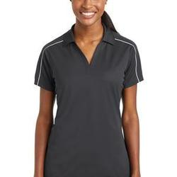 Sport Tek Ladies Micropique Sport Wick ® Piped Polo