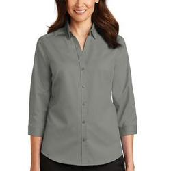 Ladies 3/4 Sleeve SuperPro ™ Twill Shirt