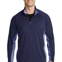 Sport Wick ® Stretch Contrast 1/2 Zip Pullover