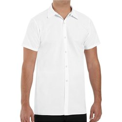 Poly/Cotton Cook Shirt Longer Length