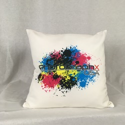 "14""x14"" Pillow With 2 Sides Full Color Dye Sublimation Print"