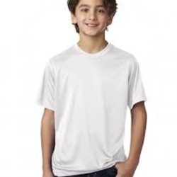 Sublimatable UltraClub® Youth Cool & Dry Basic Performance Tee